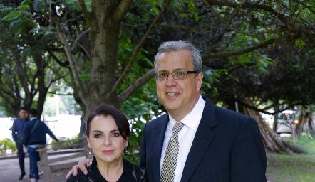Pitina y Octavio Purata.
