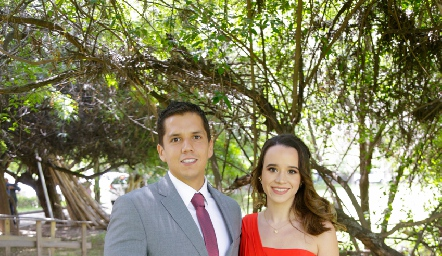 Arturo Zamudio y Katya Martínez.