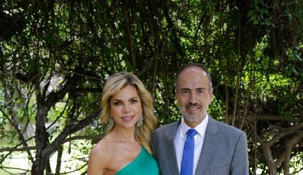 Ivonne Chahin y Marcelo de los Santos.