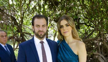Gerardo Eggleton y Claudia Mahbub.