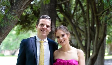 Octavio Purata y Ximena Jaques.