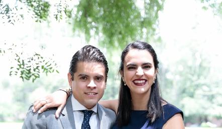 Rubén Martínez y Elsa Espinosa.