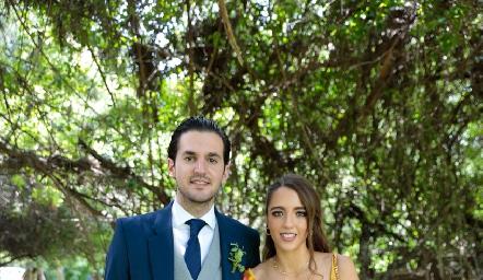 Eduardo Torre y Ana Paula de los Santos.