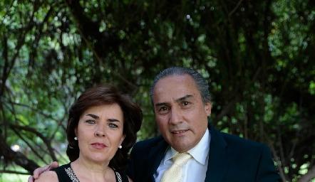 Anabel Valle y Arturo González.