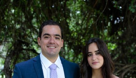 Jaime Lozano y Melissa González.