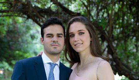 Jerónimo Gómez y Sofía Hernández.