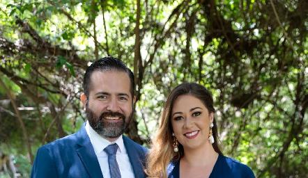 Alfredo Leal y Alicia Medina.