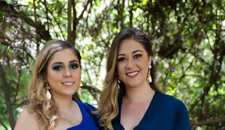 Paulina Elizondo y Alicia Medina.