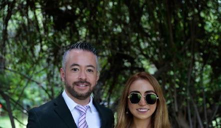 Alejandro Acosta y Ana Cris García.