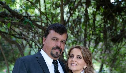 Héctor Gómez y Anabel Gaviño.