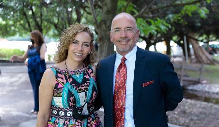 Gabriela Cubillas y Marcelo Meade.