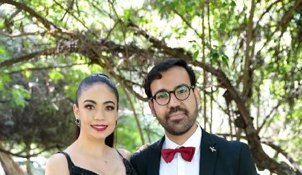 Julieta Campeas y Alejandro Basso.