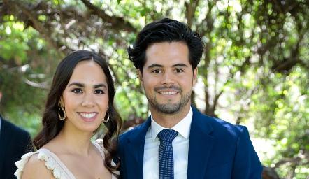 Paulina González y Rubén Gutiérrez.