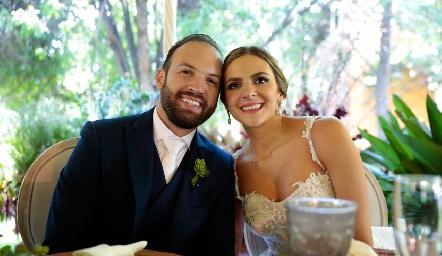 Armando Cosío Díaz y Paola Torre Gómez ya son esposos.