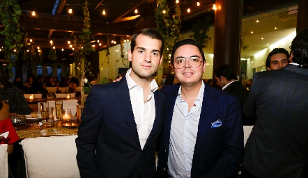 Pablo Zendejas y Tony Guzmán.