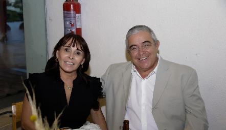 Susana Rangel y Alberto Lozano.