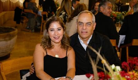 Aida Siller de Altamirano e Hilario Altamirano.