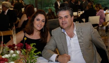Claudia Altamirano y Salomón Dip.
