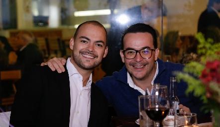 Pedro Pablo Lozano y Alberto Lozano.