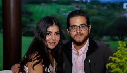 Paola Barraza y Emiliano Rodríguez.