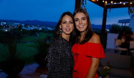María José y Regina Díaz Infante.