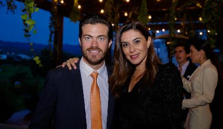 Roberto Lozano y Karina Hernández.