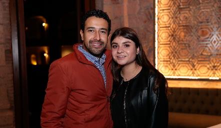 Alejandro Zepeda y Regina Estrada.