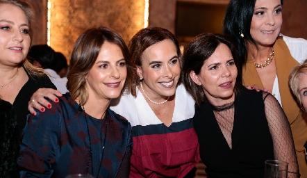 Vero Malo, Ylenia Rodríguez y Alejandra Martínez.