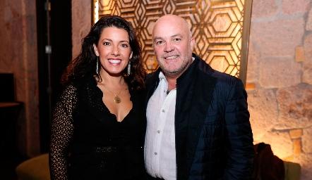 Cristina Puga y Guillermo Pizzuto.