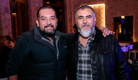 Gabriel Navarro y Picho Páramo.
