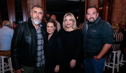 Picho Páramo, Mariana Millán, Jade Leija y Gabriel Navarro.