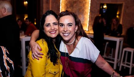 Marcela Meade e Ylenia Rodríguez.