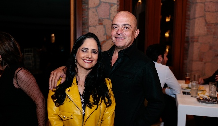 Maricela y Luis Miguel Meade.