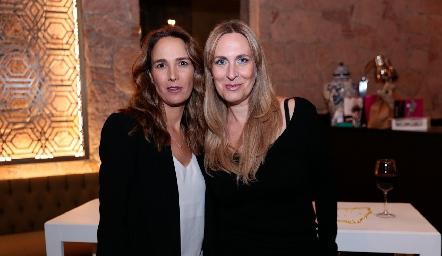 Liliana Martí y Mónica Rodríguez.