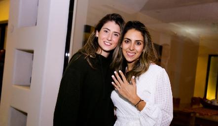 Nuria y Regina Oliva.