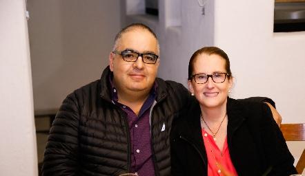 Armando Rentería y Sofía Gómez.
