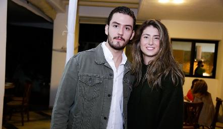 Diego Lozano y Nuria Oliva.