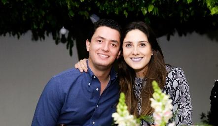 Edgar García y Miriam Díaz Infante.