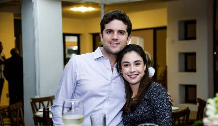 Fico Díaz Infante y Tere Mancilla.