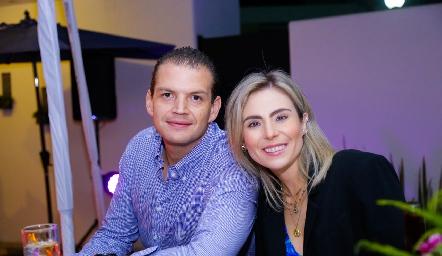 Mauricio Ruiz y Claudia Oliva.