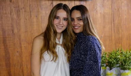 María Orozco y Alexa Mata.
