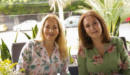 Claudia del Pozo y Laura del Pozo.