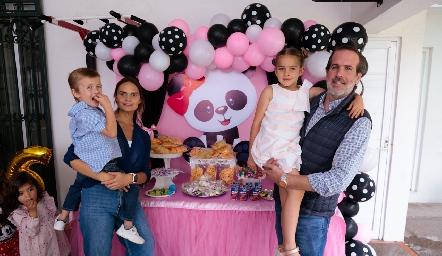 Familia Trampe García.