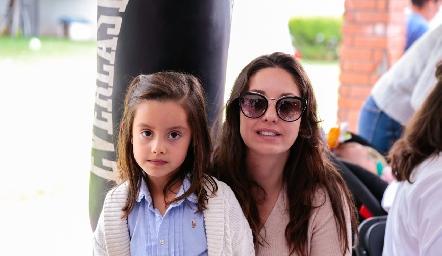 Julia y Ale Díaz Infante.