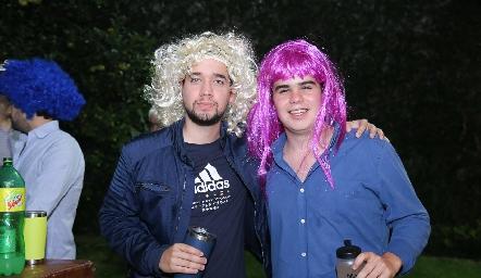 Mauricio Flores y Pato Aranda.