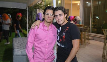 Andrés Bravo y Christian Faz.