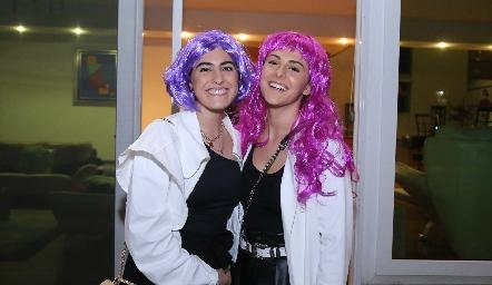 Fernanda García y María Meade.