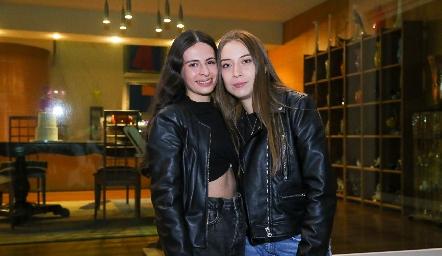 Sofia y Karime.