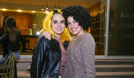 Paulina Valle y Sofía Gaytán.