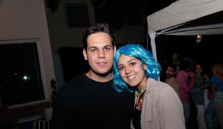 Manuel Ascanio y Natalia Renteria.
